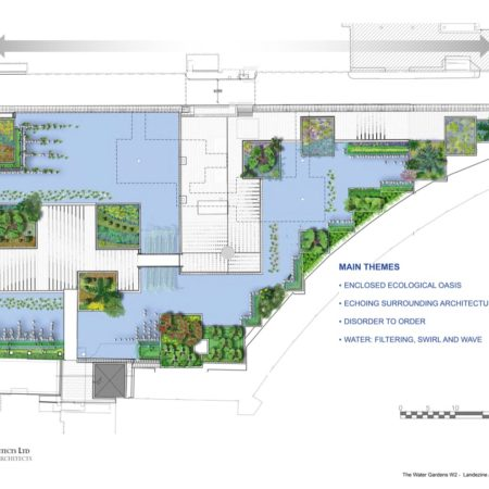 zz The Water Gardens Masterplan - Refolo Landscape Architects