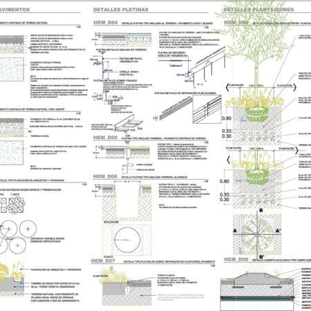 029_Landscape Emergency Hospital Madrid_Key Plan_Details