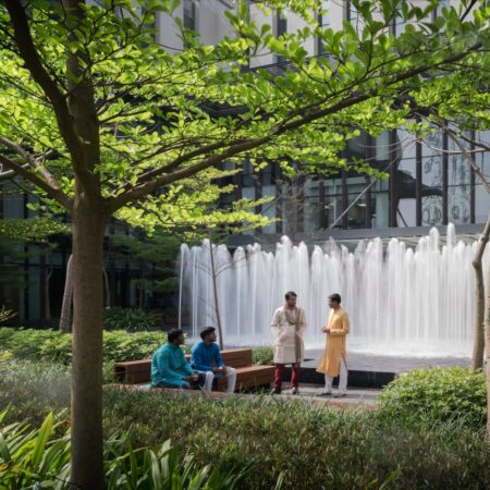 030 Forest court is an ideal gathering spot during working days