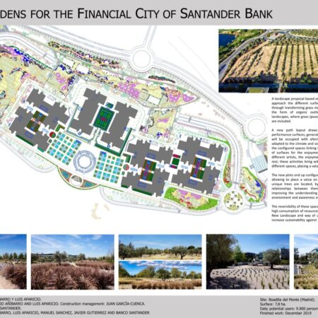 1 NEW GARDENS FOR THE FINANCIAL CITY OF BANCO SANTANDER