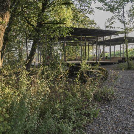 Pavillion The Park Flughafen Zürich, Studio Vulkan Landschaftsarchitektur