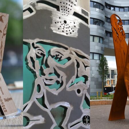 3. Greenwich Square Public Realm Sculpture - concept to fabrication to reality