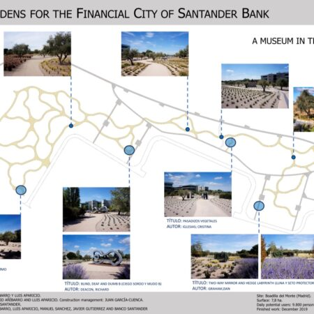4 NEW GARDENS FOR THE FINANCIAL CITY OF BANCO SANTANDER