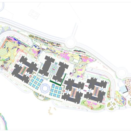 6 general plan design and composition NEW GARDENS FOR THE FINANCIAL CITY OF BANCO SANTANDER