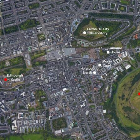 Calton Hill Location Plan