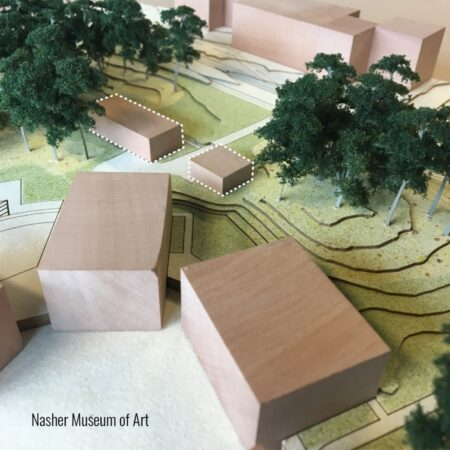 Duke University Nasher Sculpture Garden - Existing Context © West 8