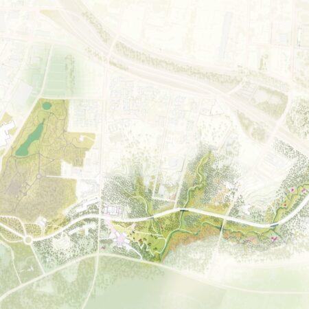 Duke University Three Valleys Masterplan © West 8 (3)
