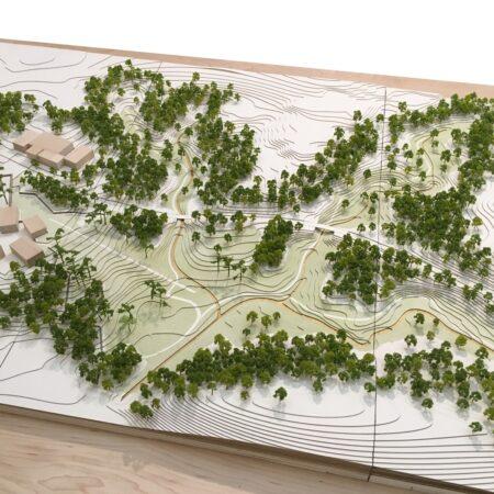 Duke University Three Valleys Masterplan Model © West 8 (2)