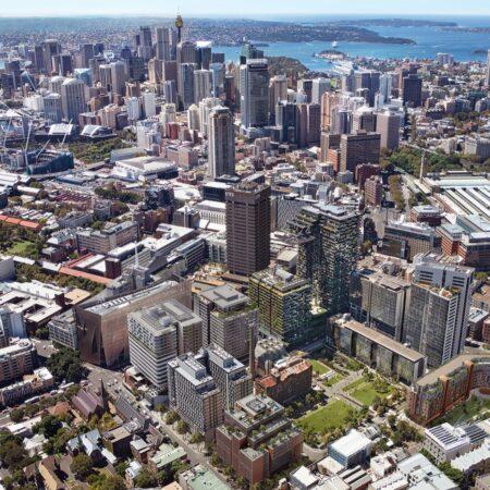 HERO_Aerial_Central Park_Image courtesy of Frasers Property Australia and Sekisui House Australia