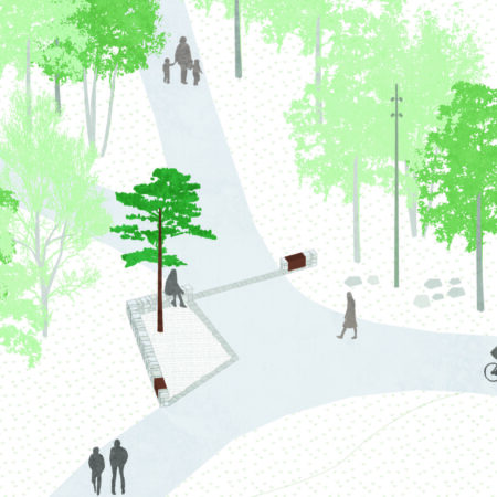 Z:Projekt201806 Husby9 arbetsmaterialLANDillustration5 axonometriunderlag - cadHusby_underlag axo Entréplats begravning
