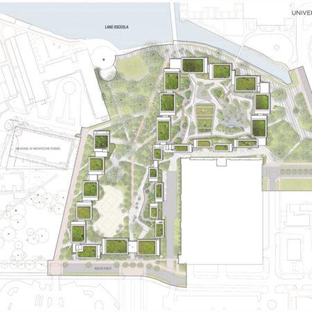 LILA_2021-ArquitectonicaGEO_Univ-of-Miami-Lakeside-Village_Site-Plan-Green-Roofs