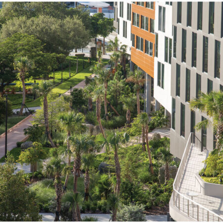 LILA_2021-ArquitectonicaGEO_Univ-of-Miami-Lakeside-Village_View-from-5th-Floor-to-Central-Park