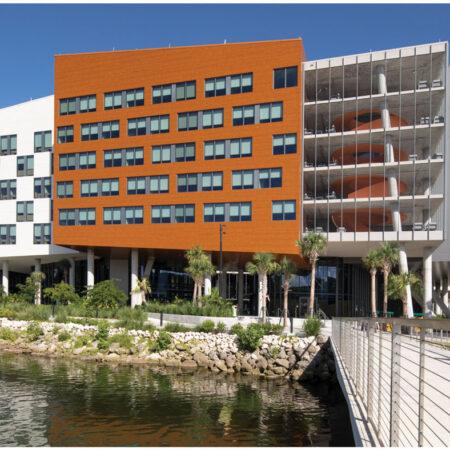LILA_2021-ArquitectonicaGEO_Univ-of-Miami-Lakeside-Village_from-Fate-Bridge