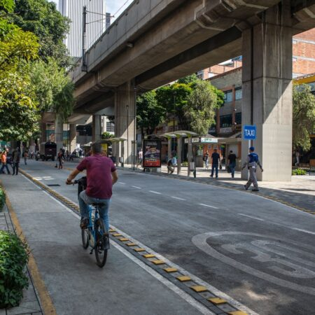 Medellin Downtown's Tropical and Built Landscape-17