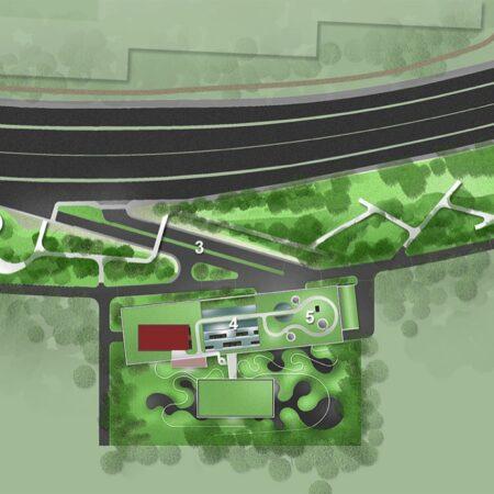 Simple Site Plan_Ribbon Dance Park