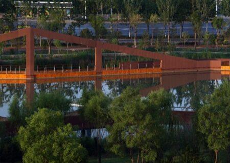 Waterfront Park of Aiyi River Yinchuan-1