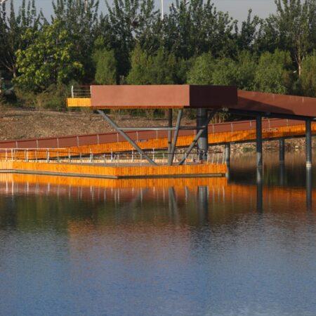 Waterfront Park of Aiyi River Yinchuan-2