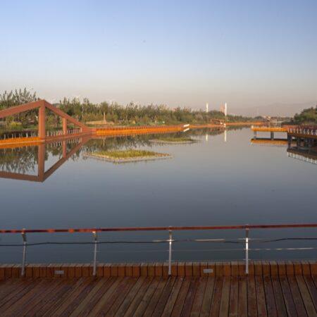 Waterfront Park of Aiyi River Yinchuan-4