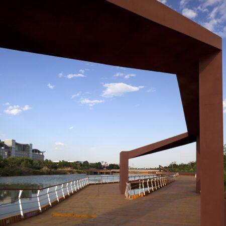 Waterfront Park of Aiyi River Yinchuan-5