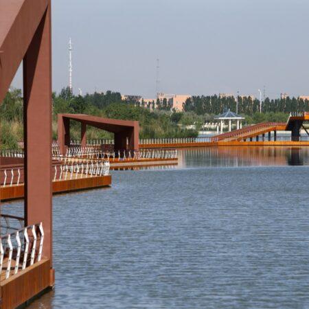 Waterfront Park of Aiyi River Yinchuan-6