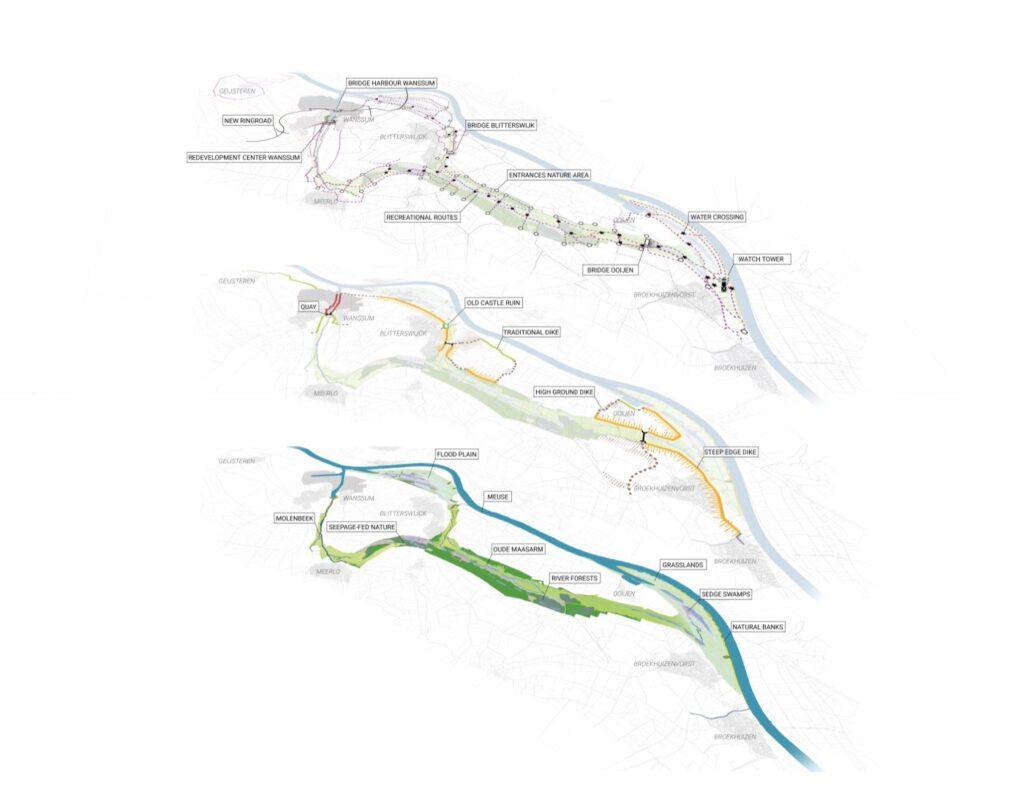 Plan in layers Ooijen Wanssum