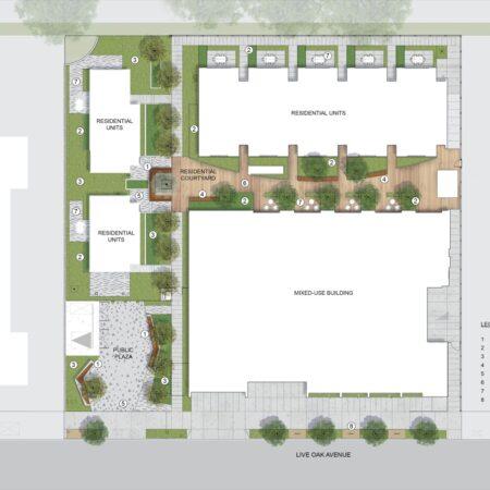 x 650 Live Oak_Site Plan