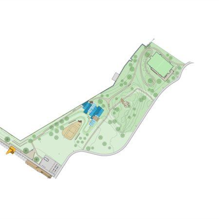 x Bekkelagsbadet - Simple site plan