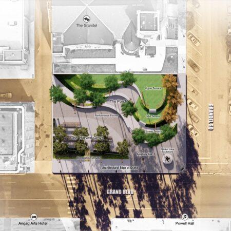 x Grand Center Arts Academy Plaza_LJC_Site Plan