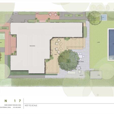 x Green 17 Sonoma Cottage Site Plan