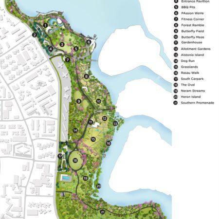 x Lakeside Garden_Site Plan