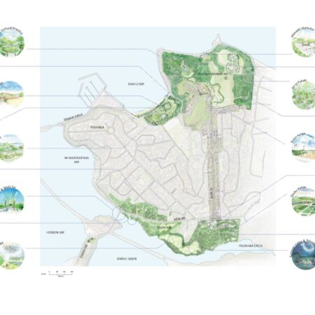 x OVF Site Plan