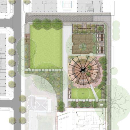 I:Projects15-322 Newmarket GreenCAD Drawings3.0 Tender CCParkLandscape15-322_Park_X_L_LandscapeBase 15-322_PS_Park_Colou