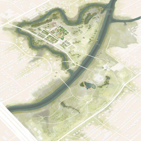 x West 8 Houston Botanic Garden Site Plan © West 8