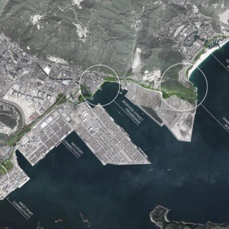 xx 01 Master Plan of Yantian 19.5km Waterfront Boardwalk