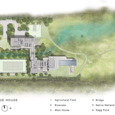 xx Bridge House_Site Plan_2021