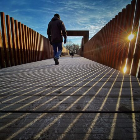Springfield Dam Park in West Belfast following a major redevelopment. Picture by Mal McCann