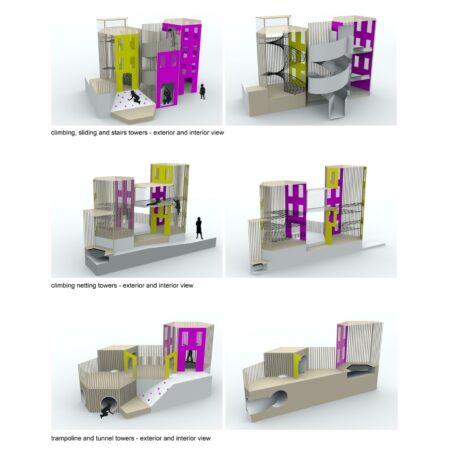 Carve-26-Carve_Serravalle Designer Outlet_towers cutouts