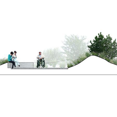 P:406 Skitseforslag Strandvejen 142c10 DrawingsML_landskabSNITML406 snit Layout2 (1)