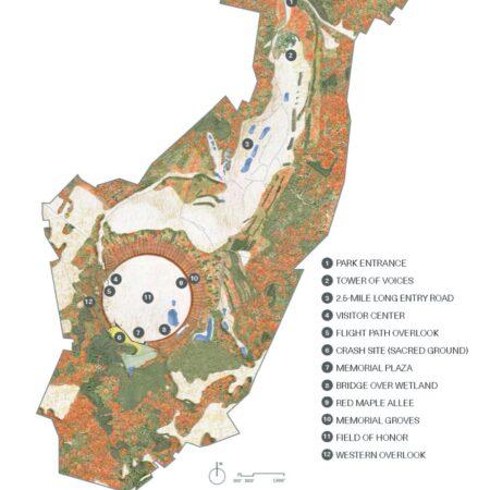 zz Flight 93 National Memorial Site Plan