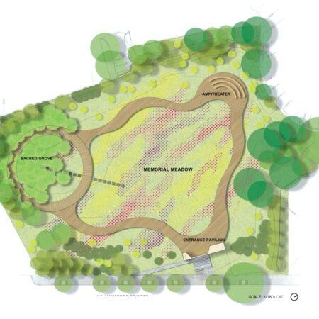 zz Naval Cemetery Landscape Site Plan