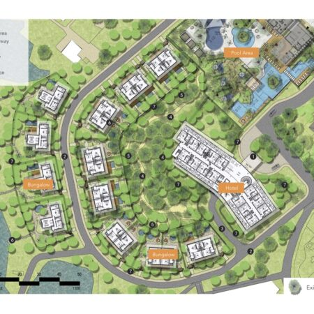 zz Villa area plan